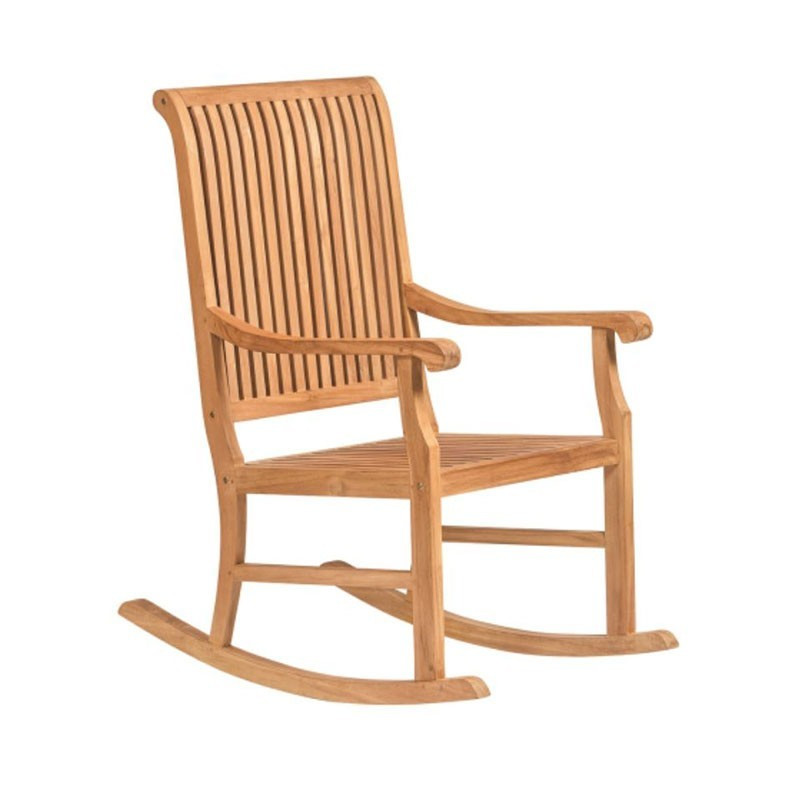 Teak rocking chair - Tuindeco