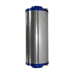 Filtre à charbon actif Bull Inline Filter - Filtre 150 x 500 1000 m3/h flange 150 mm - Bull Filter