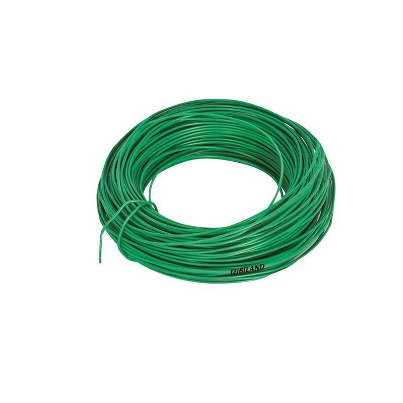Plastic-coated galvanized wire link 25m Ø2.2mm - Ribiland