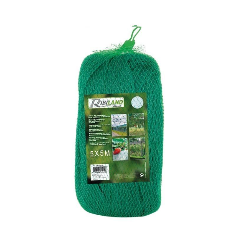 Crop protection net - 5 x 5 m - Ribiland