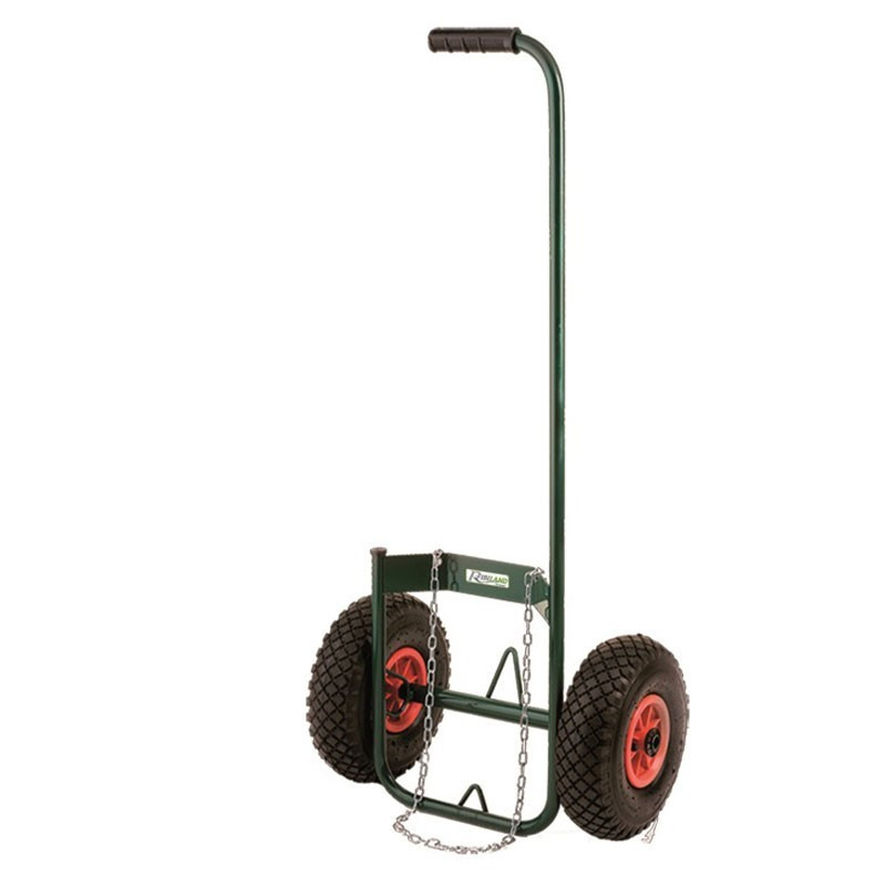 Bottle trolley with air wheels - Ribiland
