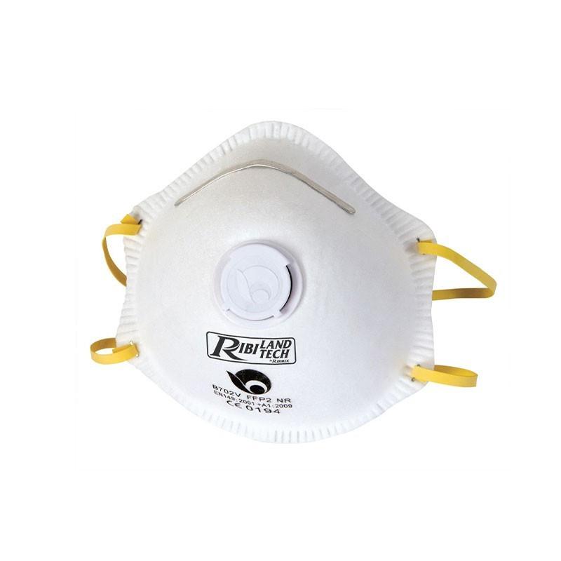 Dust mask with valve x3 - Ribiland