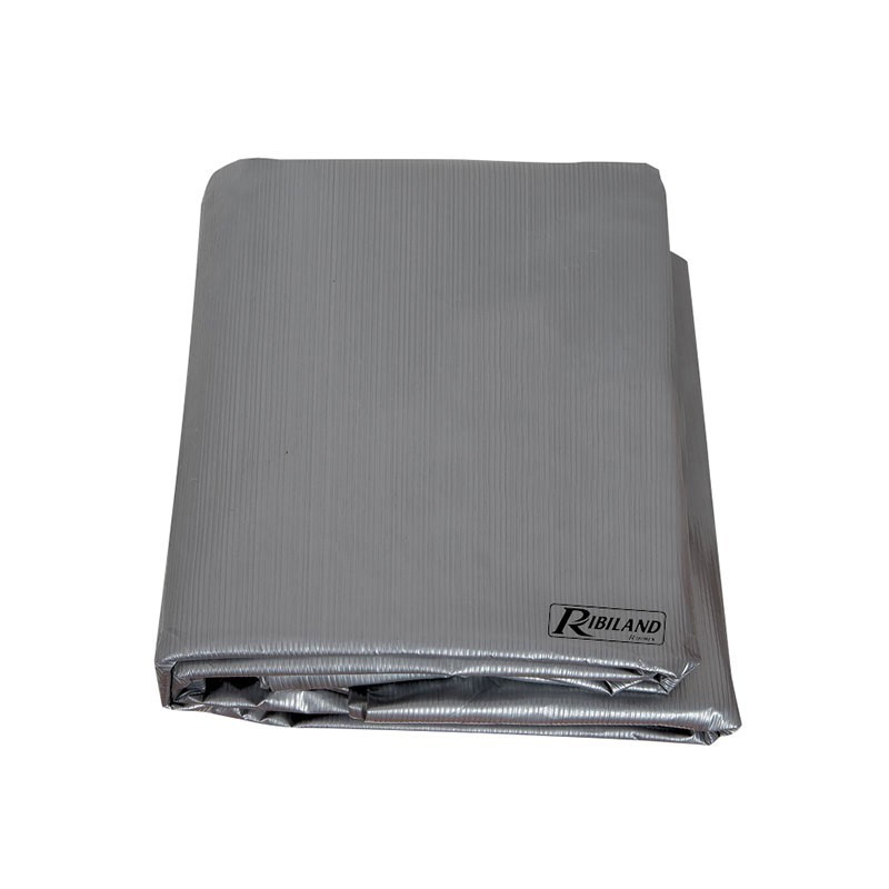 Silver cover for rectangular barbecue 90g/m² - 130x70x80cm - Ribiland