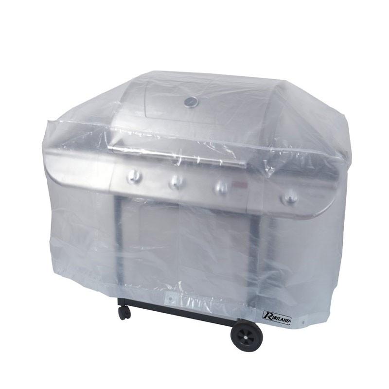 Translucent cover for rectangular barbecue 90g/m² -130x70x80cm - Ribiland