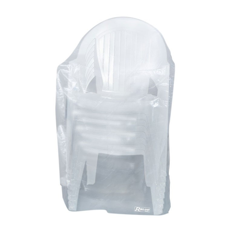 Translucent chair cover for chairs with armrests 90g/m² - 90x70x115cm - Ribiland