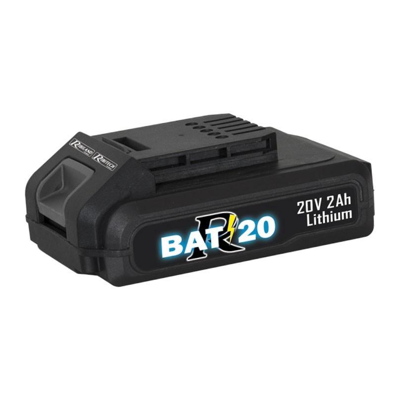 Battery R-BAT20 Li-Ion 20V 2amp - Ribiland