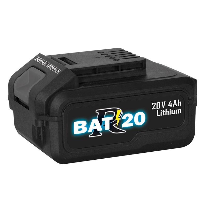 Battery R-BAT20 Li-Ion 20V 4amp - Ribiland