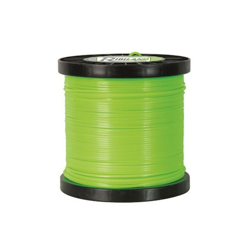 Square wire reel for brushcutter 140m - ø2.4mm - Ribiland