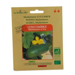 Graines Bio - Concombre Marketmore - semence biologique