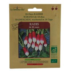Organic seeds - Radish 18 Days - seed organic