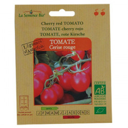 Organic seeds - Cherry Tomato Red - seed organic