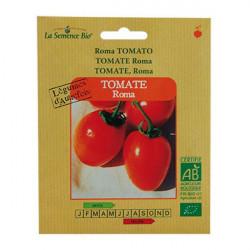Seed Organic Tomato Roma seed - organic