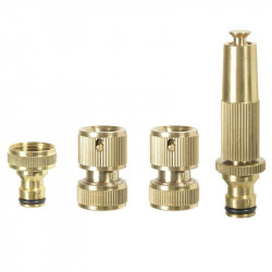 Kit spray wand Ø15mm + 2 fittings + nose faucet - Ribiland