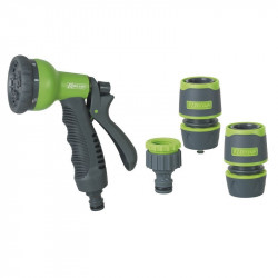 Kit watering with Gun apple + 2 fittings 15mm + x tap - Ribiland