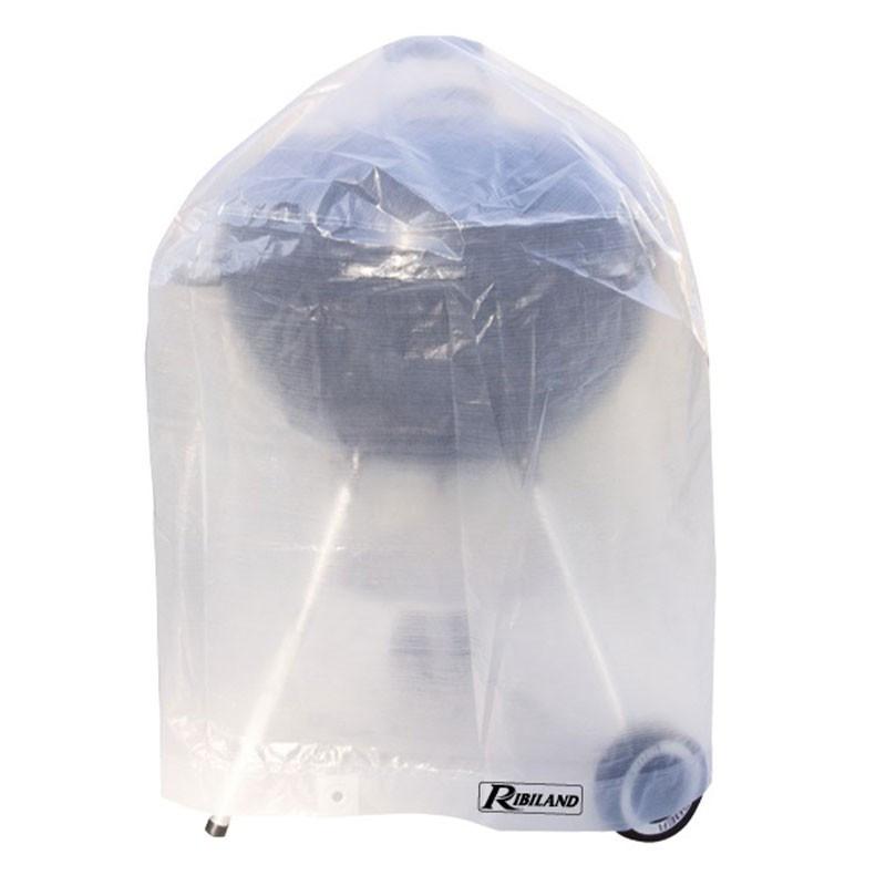 Translucent cover for round barbecue 90g/m² - ?70x75cm - Ribiland