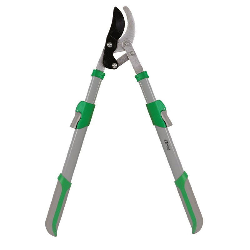 Branch cutter with 95cm serrated counter blade with telescopic handle - Ribiland