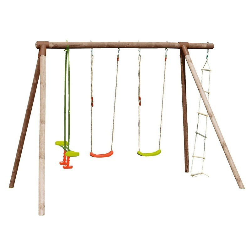 Hibiscus Gantry - 3 swings and ladder - Soulet