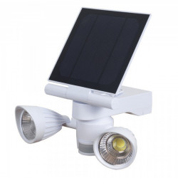 SPOT SOLAR 2X5 W LED, 800 LUMENS WITH SENSOR