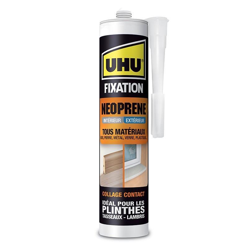 Neoprene Fixing Glue Beige - 350 g cartridge - UHU
