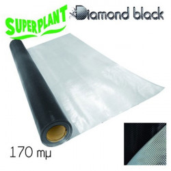 Superplant Mylar Diamond Black Backing 1,2 X 1 m Linéaire