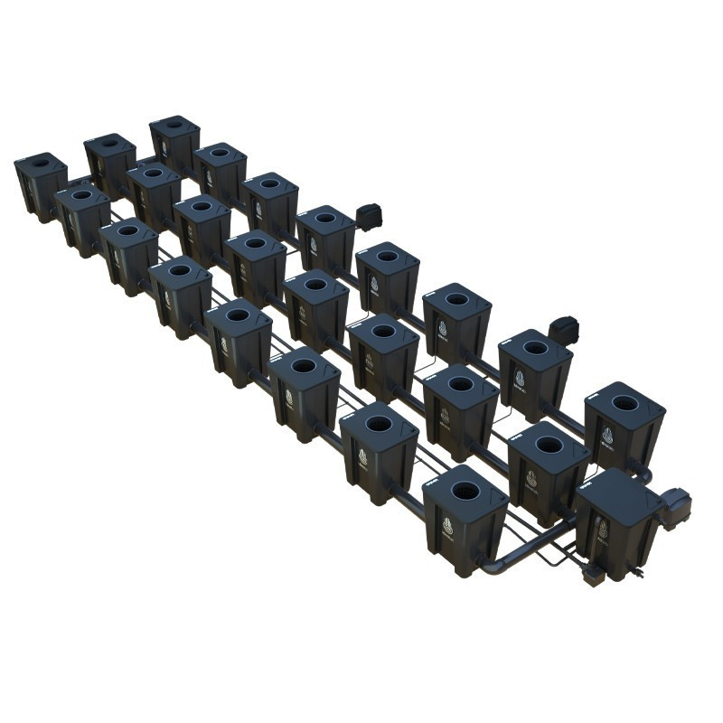Original RDWC 3-row system 24+1 - Idrolab
