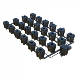 RDWC  SYSTEM 4 ROWS LARGE 24+1 WITH TUBOFLEX DIFFUSER