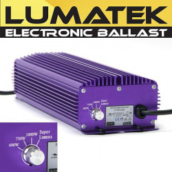 Lumatek - ballast électronique professionnel 1000w 400v double ended