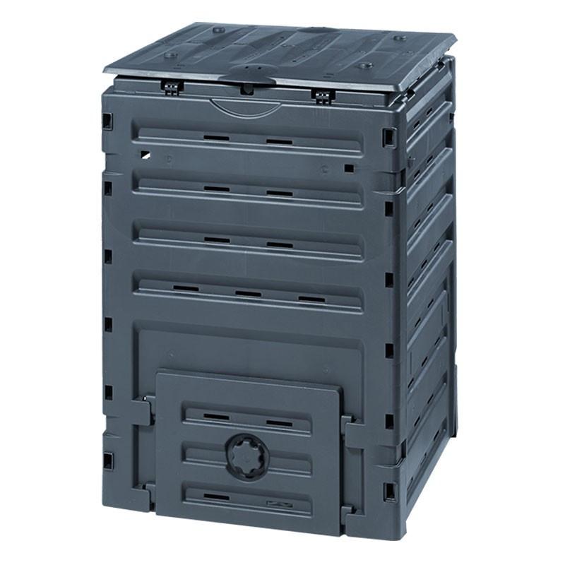 COMPOST BIN ECO-MASTER 300 L BLACK