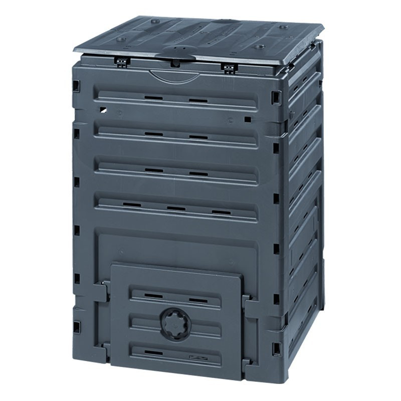 COMPOST BIN ECO MASTER 450L BLACK