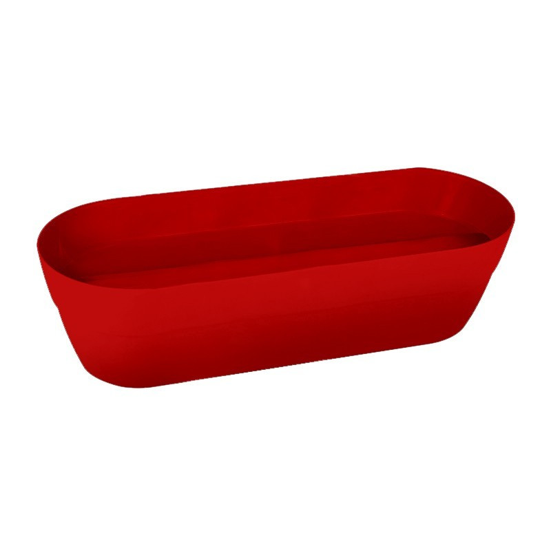 Cancun planter - Ruby red - 38 L - 80 cm - EDA Plastics