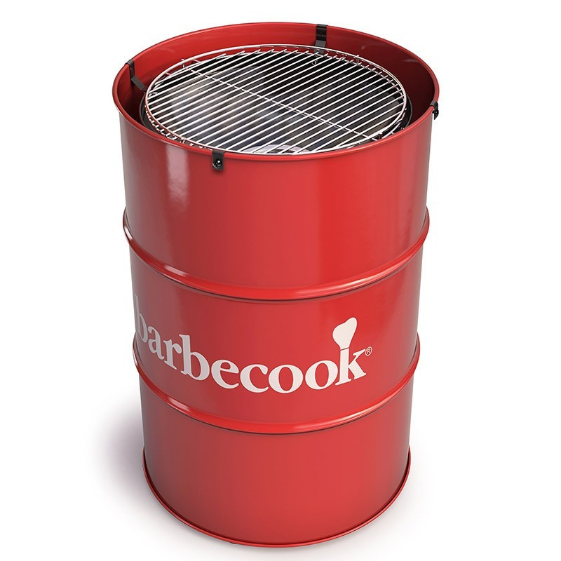 Edson Red Charcoal Barbecue - Barbecook
