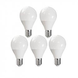 LOT OF 5 ADVANCED STAR LED light BULB A50 5W 6500K E27