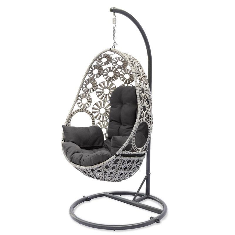 Cushion Swing - Samoa - Grey and Taupe - DCB Garden