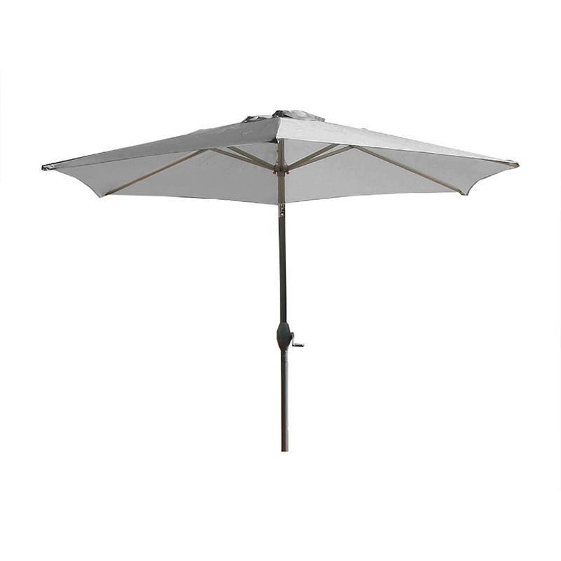 Crank Parasol - Marbella - 270 cm - Grey - DCB Garden