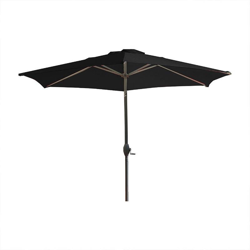 Crank parasol - Marbella - 270 cm - Black - DCB Garden