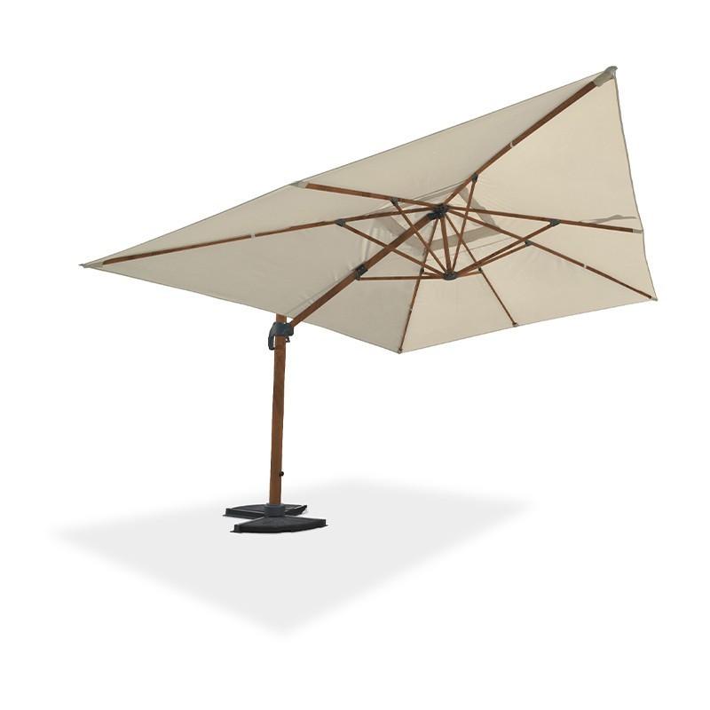Offset umbrella - Sevilla - 400 x 300 cm - Wood - DCB Garden
