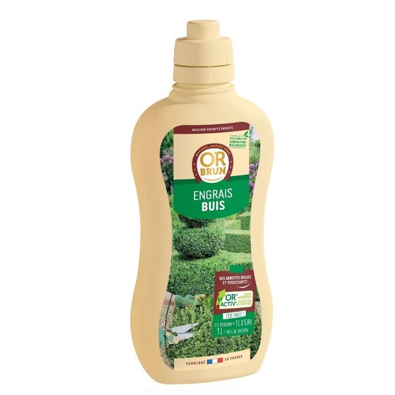 Boxwood liquid fertilizer 1L - Or brun