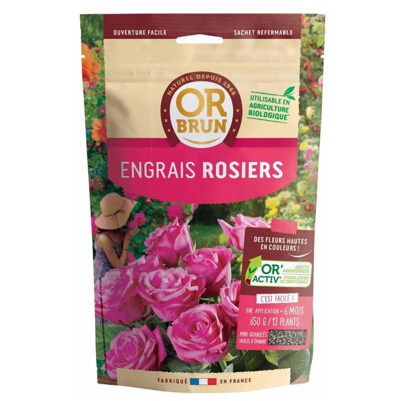 Rose Fertilizer 4Kg - Or Brun