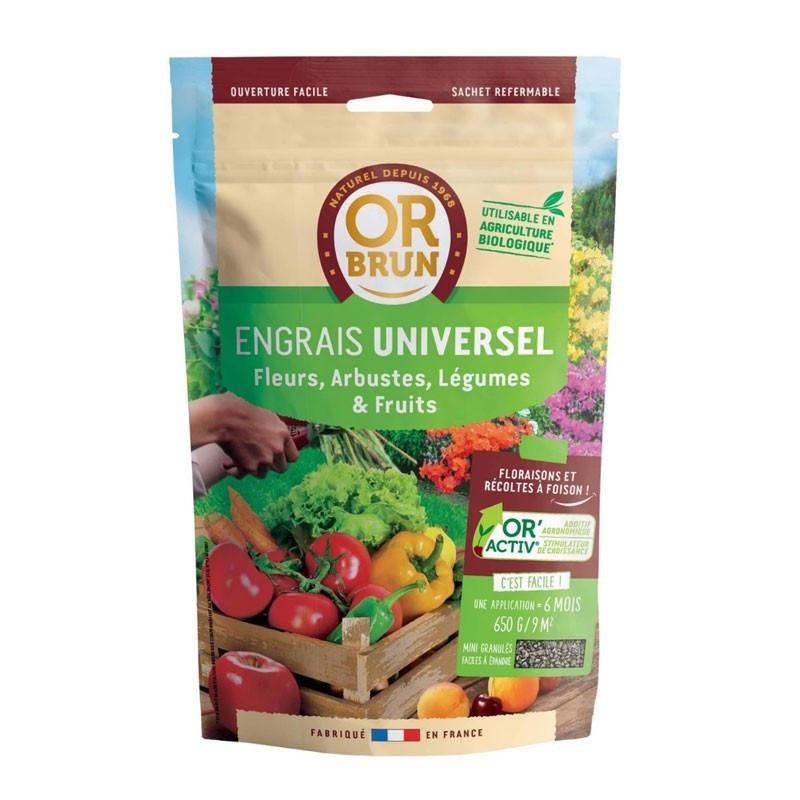 Universal Fertilizer 650g - Or Brun