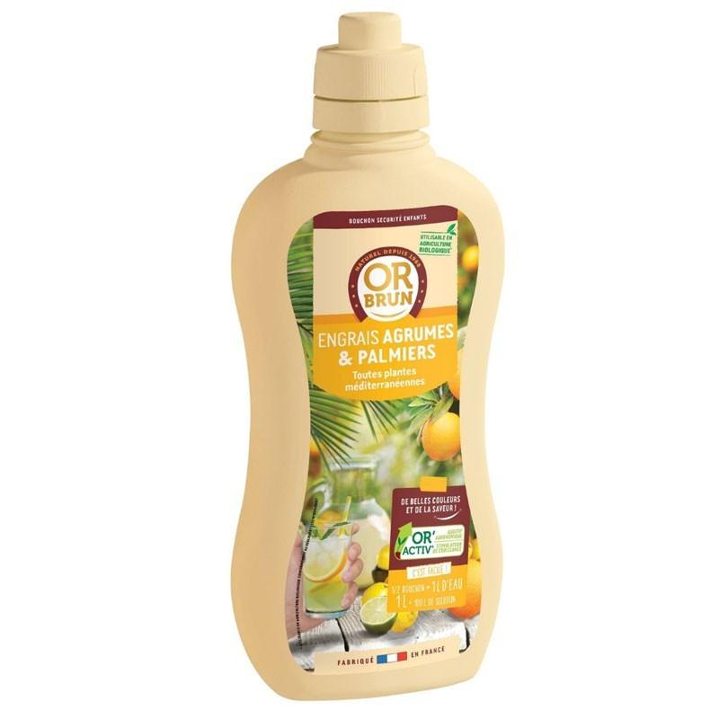 Citrus and Palm Liquid Fertilizer 1L - Or brun