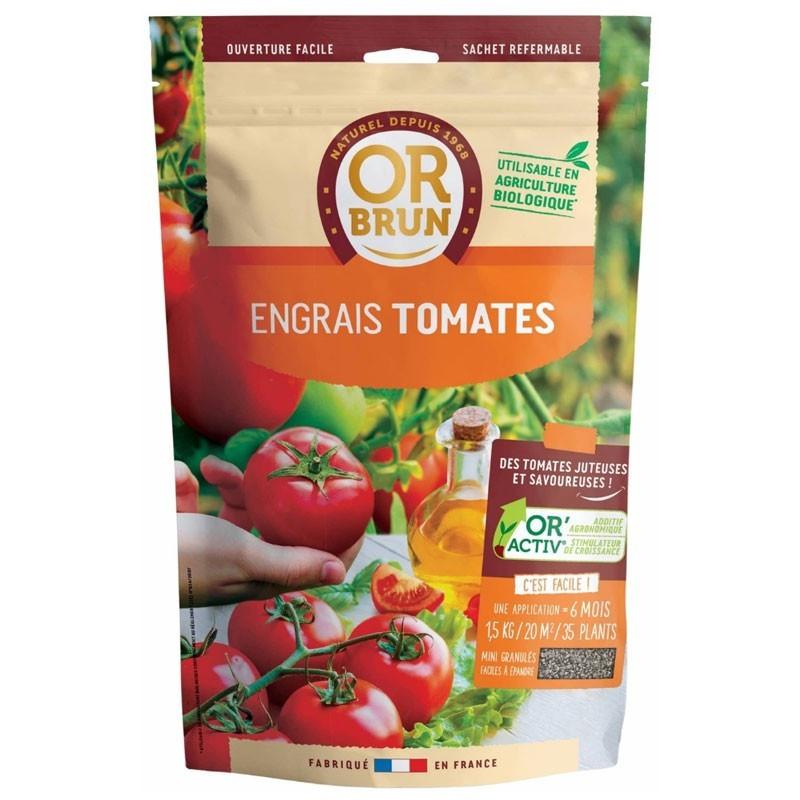 Tomato Fertilizer 1.5Kg - Or Brun