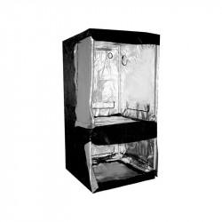 chambre de culture Dual Grow-Tent Silver 100 X 100 X 200 cm