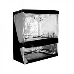 chambre de culture Dual Grow-Tent Silver 150 X 80 X 200 cm