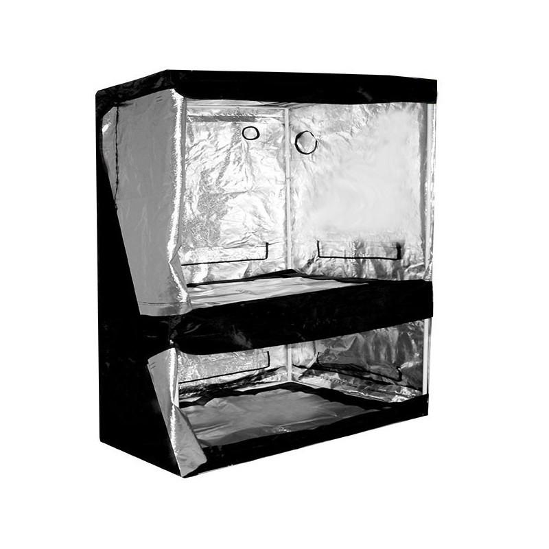 Black Silver Chambre de culture 100 x 100 x 200 cm
