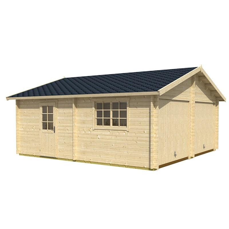 Lasita - Falkland Garage - Up-and-over doors - 6.35 x 6.29 x 3.14 m
