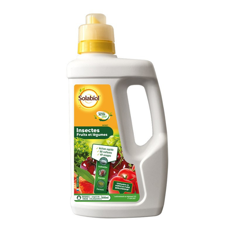 INSECTS VEGETABLES FRUITS 800ML SOIL