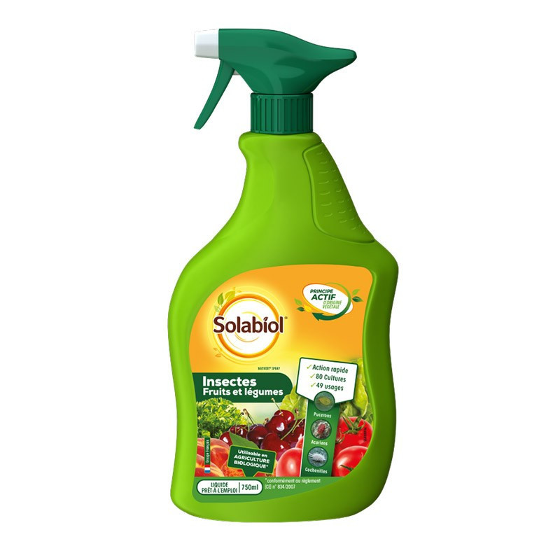 INSECTS VEGETABLES AND FRUITS PAE 750ML SOIL