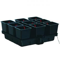 Système hydroponique - HydroStar 120 Big Pots 9 pots 25 L 120 x 116 cm - Platinium Hydroponics