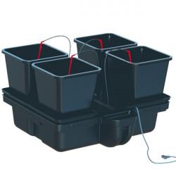Système hydroponique - HydroStar 80 Big pots 4 pots 18 L 80 x 75 cm - Platinium Hydroponics