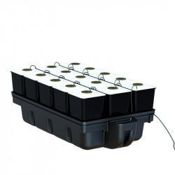 System aeroponic - AeroStar 15 pots 110 x 60 cm - Platinium Aeroponics